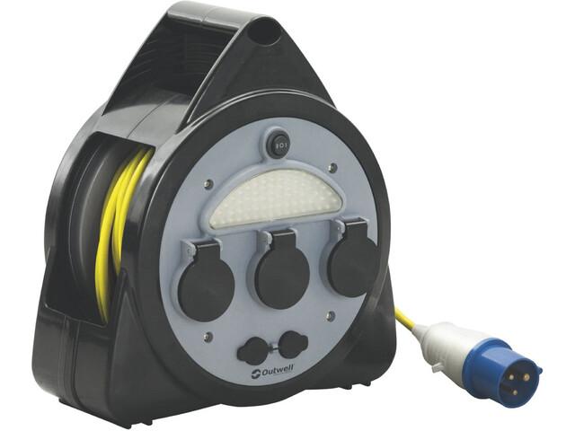 Outwell Mensa Kit de rouleau rallonge à 3 voies avec USB/light